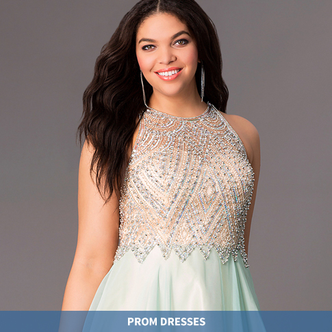 Pictures of plus size formal dresses